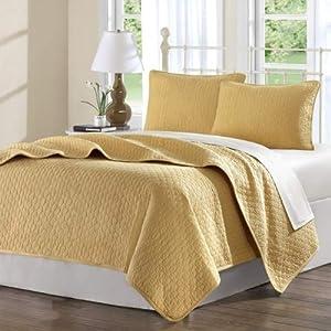 Amazon.com: Hampton Hill Calypso Cotton Quilted Coverlet