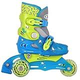 Inline Skates TriGo grün Gr - XS und Räderposition verstellbar