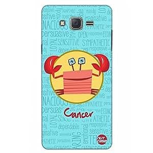 Designer Samsung Galaxy J5 Case Cover Nutcase - - Star Signs - Cancer Blue