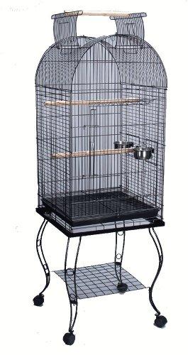 """Bird Parrot Cage Cockatiel Amazon African Grey Caique Conure, 20 X 20 X 65""""h"""