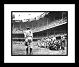 Babe Ruth Framed 8x10 Photo - Yankee Stadium Farewell
