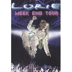 Lorie : Week End Tour (Édition simple) - DVD