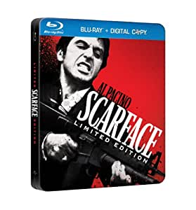 Scarface (Limited Edition SteelBook Blu-ray+Digital Combo) (1983) [Blu-ray] (Bilingual)