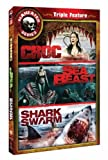 Maneater Series Triple Feature: Croc / Sea Beast / Shark Swarm