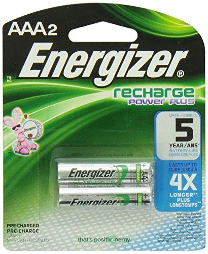 Energizer Rechargeable Batteries Size Aaa Nimh Blister Pack