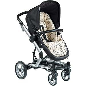 Peg-Perego Skate Stroller System - Black Bubbles (Discontinued by Manufacturer)