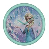 Disney Frozen Elsa Blue 26cm Quartz Wall Clock