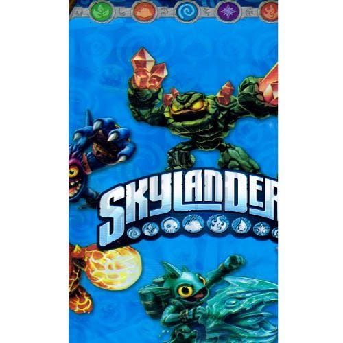 Amscan Swashbuckling Skylanders Birthday Party Plastic Table Cover (1 Piece), Blue, 54 x 96""