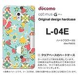 docomo Optimus G Pro L-04E ケース Optimus G Pro L-04E カバー ケース・ジャケット【ハートフラワー055/l04e-PM055】