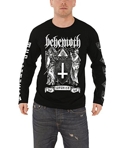 Behemoth - Top - Maniche lunghe  - Uomo nero Small