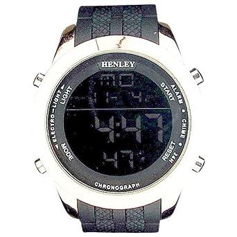 Montre Henley Homme Digitale Date Rétroéclairage et Bracelet