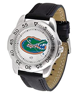 Florida Gators NCAA Sport Mens Watch (Leather Band) by SunTime