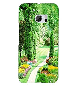 HTC ONE M10 PARK Back Cover by PRINTSWAG