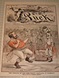 img - for 1880 Puck Color Litho Cover:Opening of the Democratic Campaign of Harmony (Boxing) book / textbook / text book