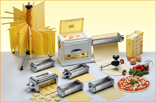Complete Electric Pasta Machine and Pizza Making Package (Imperia Pasta Facile compare prices)