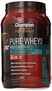 Champion Nutrition Pure Whey Plus Chocolate Brownie -- 2 lbs