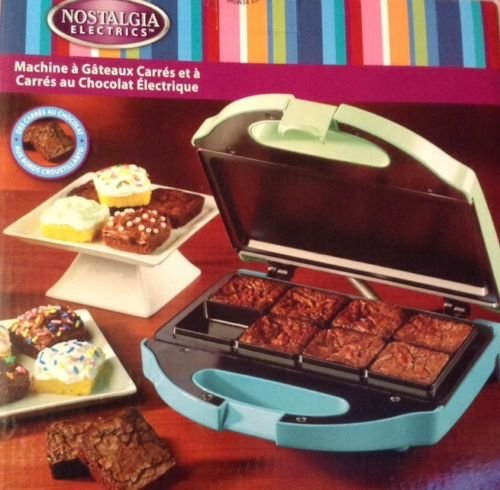 New Shop Nostalgia Delicious Brownie & Cake Squares Maker New Party Fun Food Gift