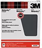 3M Pro-Pak Wetordry Sanding Sheets, 220A-Grit, 9-Inch by 11-Inch