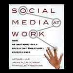Social Media at Work: How Networking Tools Propel Organizational Performance   Arthur L. Jue,Mary Ellen Kassotakis,Jackie Alcalde Marr