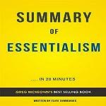 Summary of Essentialism by Greg McKeown: Includes Analysis |  Elite Summaries