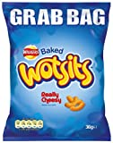 Walkers Baked Wotsits Cheesy Corn Puffs 36 g (Pack of 30)