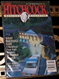 Alfred Hitchcocks Mystery Magazine, What santucci Said