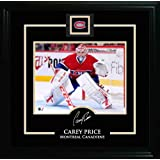 Frameworth Carey Price 8X10 Etched Signature Montreal Canadiens