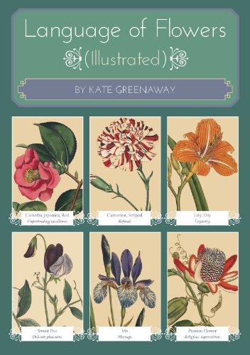 Kate Greenaway - Language of Flowers (illustrated) (English Edition)