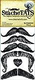 StacheTATS The Pancho Villa Temporary Mustache Tattoo