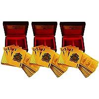 ShadowFax Golden Playing Cards With Box Set Of 3PC - B01KA63ILQ