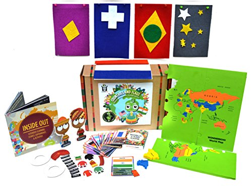 Learning toys: WonderBoxx Countries and Flags