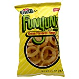 Funyuns Onion Snacks, 1.25-Ounce Large Single Serve Bags (Pack of 64) ~ Funyuns