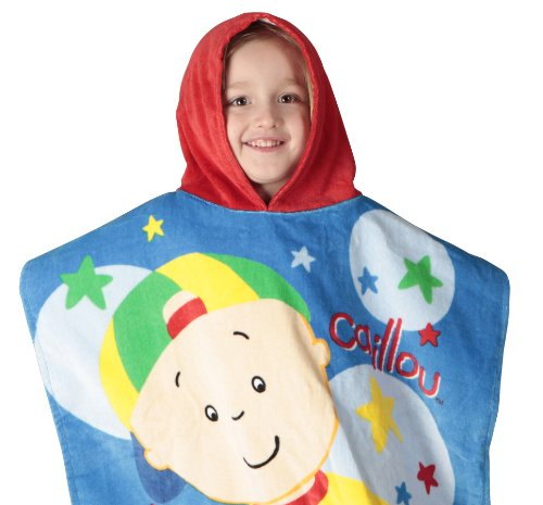Caillou Toddler Poncho Towel