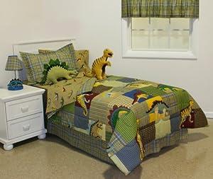 Amazon Com Lost World Dinosaur Full Comforter Set 8