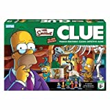 Clue Simpsons All New Mystery 3rd Edition by Parker Brothers