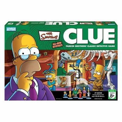Buy The Simpsons Clue Mystery Detective Game