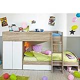 hochbett mit schrank was man vor dem kauf wissen sollte. Black Bedroom Furniture Sets. Home Design Ideas