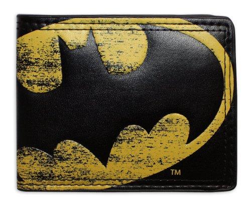 Batman Logo Vintage Portafoglio-Portafoglio