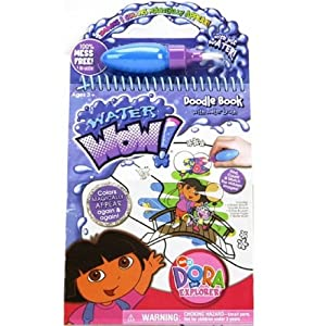 Dora Water Wow Doodle Book (Dora the Explorer-Nickelodeon)