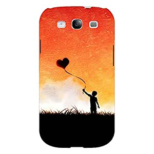 Jugaaduu Love In The Air Back Cover Case For Samsung Galaxy S3 Neo