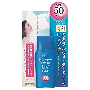 Shiseido SENKA | Sunscreen | Mineral Water UV Gel SPF50 PA+++ 40ml