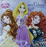 Disney Princess 16 Month 2014 Square Wall Calendar