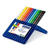 ステッドラー 色鉛筆 エルゴソフト 158 SB12 三角太軸 12色