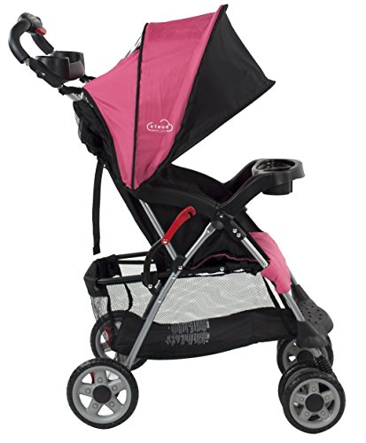 Kolcraft Cloud Plus Lightweight Stroller, Fuchsia