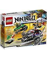 Lego Ninjago - Playthèmes - 70722 - Jeu De Construction - L'attaque D'overborg