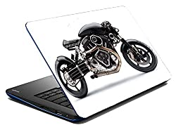 meSleep Super Bike Laptop Skin