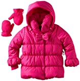 Rothschild Girls 2-6X Quilted Jacket with Bow