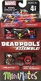 マーベル ミニメイツ Deadpool Assemble デッドプール ミニフィギュア