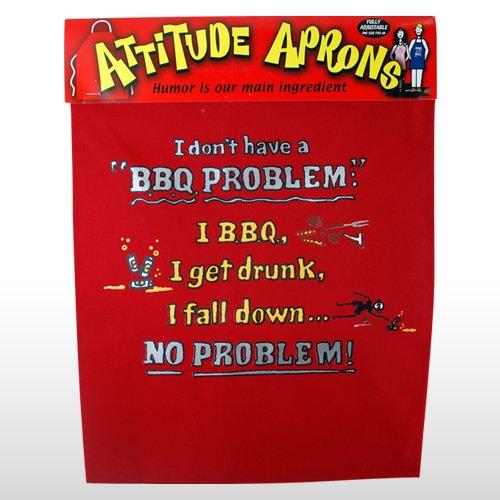 (#2134) BBQ Problem Apron