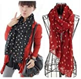 JMT Hot Sale Fashion Charming Warm Dot Scarf Women Ladies Girls Shawl Wrap